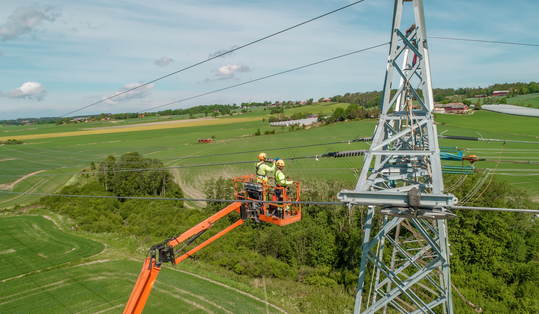 NettPartner kraftlinje utbygging regionalnett